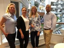 Sobona förstärker med fyra nya medarbetare