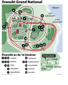 Svenskt eller tyskt i Grand National på Strömsholm?
