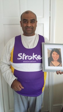 Birmingham man set to run the city's Half Marathon in memory of his wife