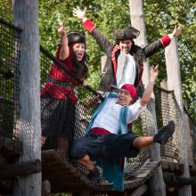 Daftö Resorts pirater kommer till Lilla Varvet