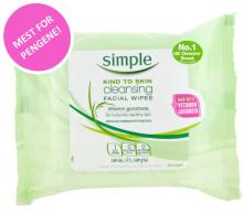 """Simple wipes kåret til """"Beste kjøp"""" i Kamilles test av renseservietter!"""