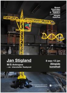 Pressvisning: Jan Stigland på Alingsås konsthall