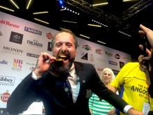 Dosa Ivanov från Clarion Hotel Post kammar hem dubbla världsmästartitlar i World Cocktail Championships