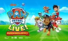 PAW Patrol Live! kommer till Sverige 2019  - turnépremiär i Linköping