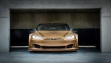 Vinge till unik racing-Tesla visas på InnoDex
