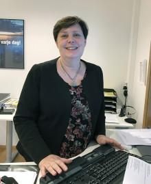Yvonne Helgeson, ny ekonomichef på Arom-dekor Kemi AB.
