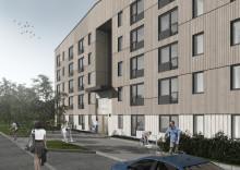 Akademiska Hus bygger studentbostäder i Luleå