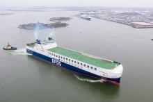 DFDS ökar kapaciteten i Göteborgs hamn med nytt fartyg