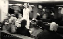 Beckmans Designhögskola visar mode på Skatteverket