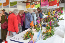 Flower Power at Flower Show in Larne Market Yard