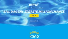 Masser af nye millionærer på Keno