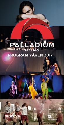 Vårens program för Palladium Malmö är här!