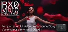 Participez au « Défi vidéo RX0 » de Sony et remportez jusqu'à 5 000 € de matériel vidéo