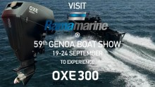Cimco Marine and RAMA MOTORI SPA will display the OXE 300 at Genoa Boat Show 20th to 24th September