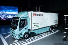 DB Schenker först att köra Volvo Trucks nya elektriska distributionslastbil i daglig trafik