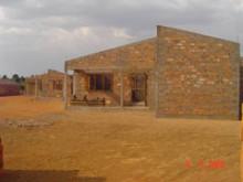 Astrid Lindgrens Barnby i Centralafrikanska republiken börjar ta form