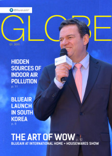 New IoT products for measuring air quality, air pollution legislation updates showcased in new Blueair Globe Magazine
