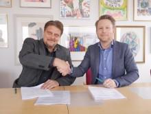 Hjältevadshus/Hultsfredshus har skrivit avtal med Mariestads kommun som är först i Sverige att använda sig av SKL:s ramavtal