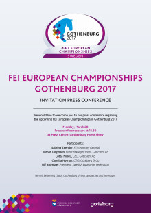 Invitation - Press Conference
