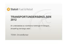 Hovedfunn Statoils transportundersøkelse_drivstoff