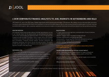 DCM Analysts JOOL Markets