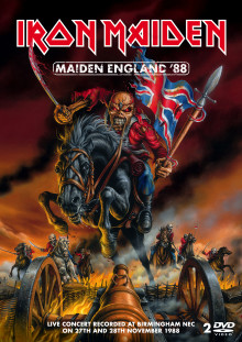 "Iron Maiden slipper ""Maiden England"" på DVD"