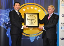 Singapore Changi Airport named the World's Best Airport for 5th time at the 2014 Skytrax World Airport Awards
