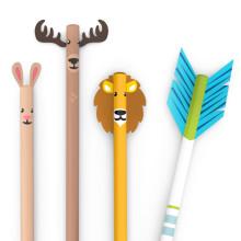 Lekende blyanter med ville dyr og piler!