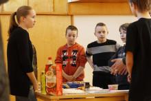 Sydänviikko 2014: Kissanmaan koulussa koettiin terveellinen ruoka kaikin aistein