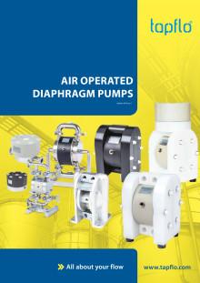 New full catalog of Tapflo AODD Pumps