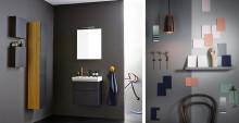 Sæt dit personlige præg på dit gæstetoilet – tør vælge farve på badeværelsesmøblerne!