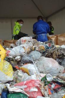 Plockanalys av sopor i Västerbotten