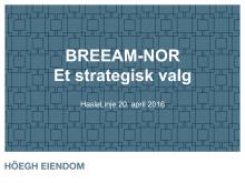 Presentasjon - Eirik Thrygg, adm. dir., Höegh Eiendom