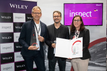 "VisiConsult wins the 2019 inspect award in the category ""Automation + Control"""