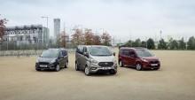 A Ford Tourneo személyszállítók stílusos, új kínálata a Brüsszeli Autószalonon mutatkozik be