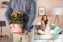 Blumengrüße zum Valentinstag