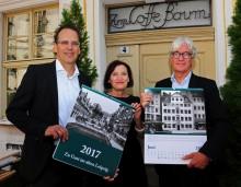 Ein Zeitsprung in Leipzigs lebendige Vergangenheit: Historischer Kalender für 2017 widmet sich Hotellerie und Gastronomie in Leipzig
