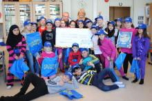 Rappande lågstadieelever i Eskilstuna tog hem första pris i nationell miljötävling