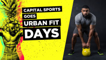 CAPITAL SPORTS goes URBAN FIT DAYS®
