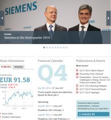 Siemens øker kvartalsresultatet med 27 prosent
