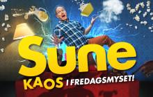 Starka namn i föreställningen Sune - Kaos i fredagsmyset