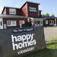 Ny Happy Homes-butik i Vännäsby!