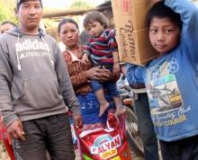 PMU och EFK gör gemensam insats för jordbävningsdrabbade i Nepal