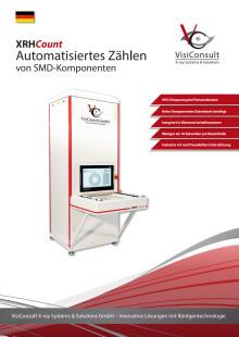 XRHCount - Schnelles Zählen von SMD Bauteilen mit Röntgentechnologie