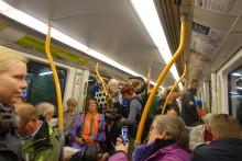 Flott feiring av T-banen som er 50 år