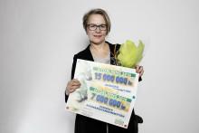 15 miljoner + 7 miljoner från Svenska PostkodLotteriet till SAK