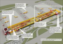 DHL Leipzig Cargo hub udvidelse