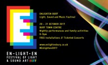 Enlighten – new sound and light festival in Bury this October