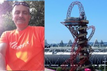 Swanley Charity Shop Manager to abseil down UK's tallest sculpture in memory of his Mum