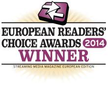 Xstream wins 2014 Streaming Media Readers choice award